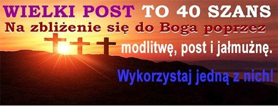 40 dni wielkiego postu